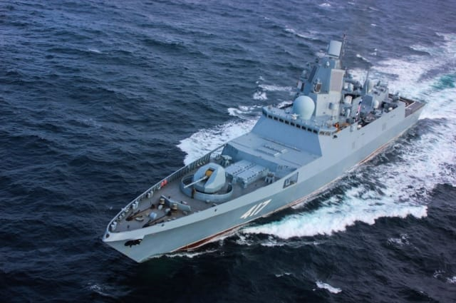 The Admiral Gorskov frigate may be the best frigate sailing today; it is certainly the fastest.