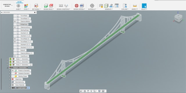 The new Preserve Geometry and constraints on our model.