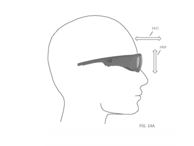 Microsoft's new patent provides a new and better-looking augmented reality headset that promises several viable and commercial and military applications. Image courtesy of Microsoft.)
