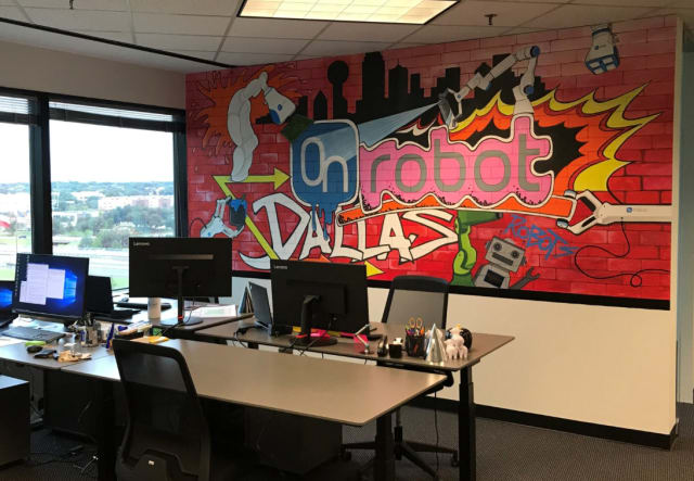 OnRobot recently opened its first U.S. headquarters in Dallas. (Image courtesy of OnRobot.)