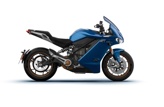 The Zero SR/S electric motorbike. Cost as tested by the Wall Street Journal: $22,000. (Picture courtesy of Zero.)