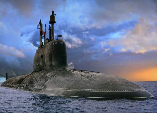 Submarines have had to surface to communicate with the outside world, which makes them vulnerable. MIT's Media Lab researchers are exploring a communicationmethod that detects tiny ripples from sonar with millimeter wave radar that might eventually be used by submerged submarines. (Stock photo)