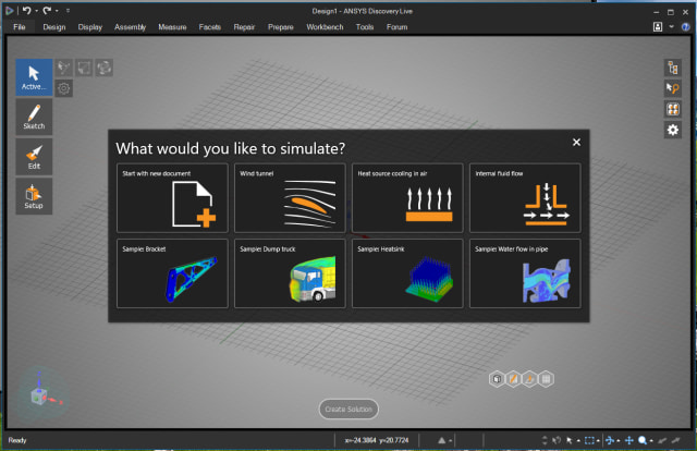 ANSYS Discovery Live Makes Simulation Fast -- and Fun