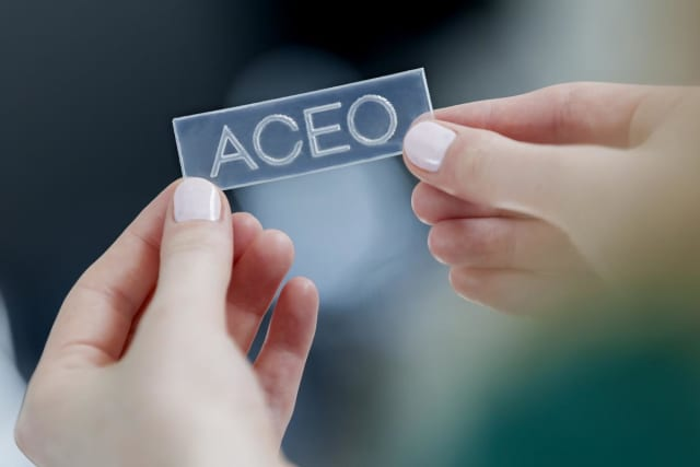 ACEO has made one of the first commercially accessible, industrial-grade silicone 3D printing technologies. (Image courtesy of ACEO.)