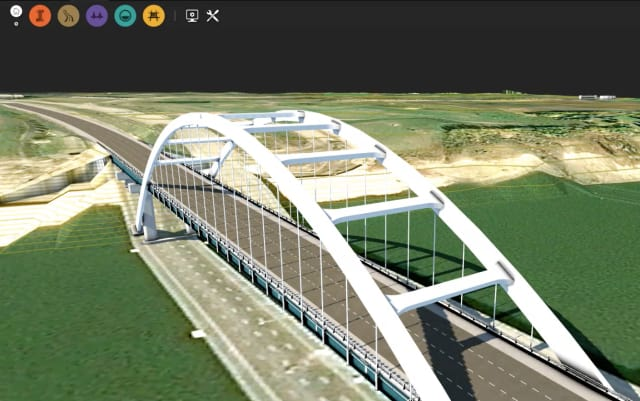 The new InfraWorks update includes improvements that make it easier to model a complex bridge. (Image courtesy of Autodesk.)