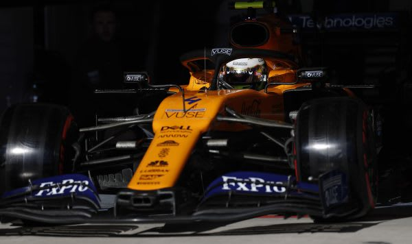 The McLaren MCL34. (Image courtesy of Dell Technologies/McLaren Group.)