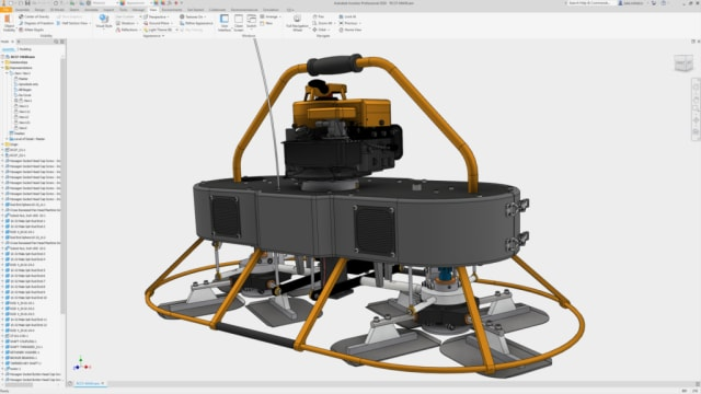 Screenshot of Inventor 2020. (Image courtesy of Autodesk.)