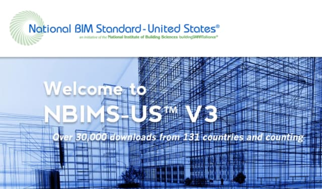 While the U.S. has a set of best-practice BIM standards, the country doesn't have a UK-style mandate. (Image courtesy of National BIM standard – United States.)