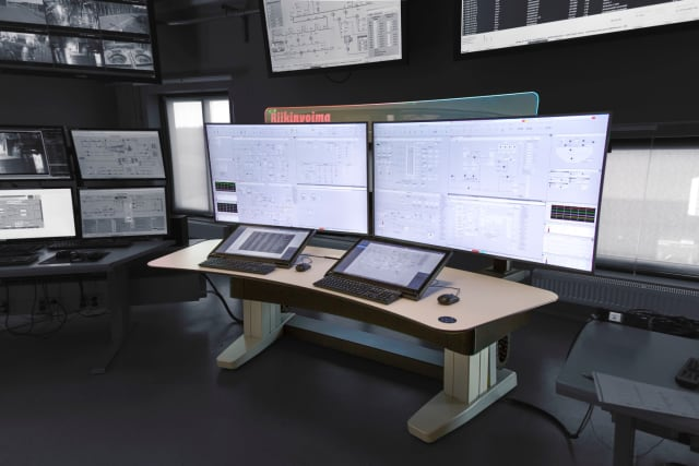 The new Experion Orion console. (Image courtesy of Honeywell.)