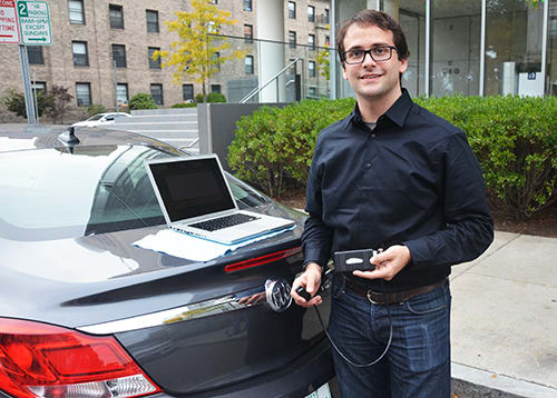 Josh Siegel: Developer of the auto-diagnostic app (courtesy: Slice of MIT)