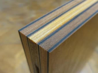 Figure 1. A wood carbon AGM panel. (Image courtesy of Digital Architects.)