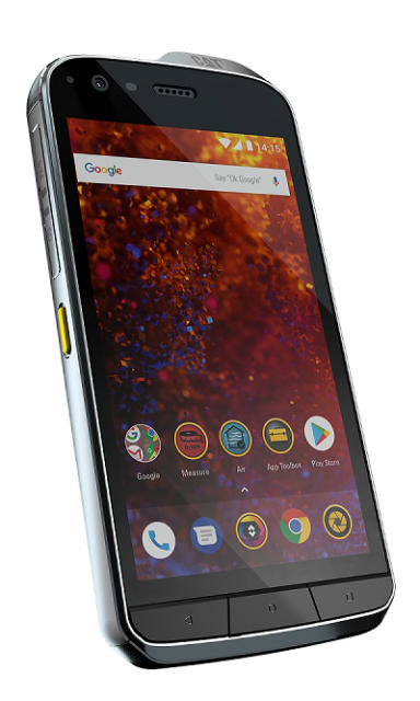 The new Cat s61 Industrial Ready Smartphone (Image courtesy of CAT)