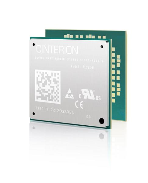 The Cinterion PLS62-W IoT module. (Image courtesy of Gemalto.)
