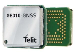 The Telit GE310 GNSS. (Image courtesy of Telit.)