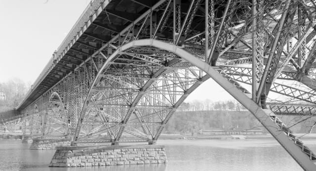 Researchers at Carnegie Mellon University developed an AI framework that can develop a bridge truss on its own based on learning through observing human data. (Image courtesy of Carnegie Mellon University.)