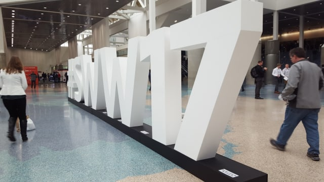 SOLIDWORKS World 2017 entrance.