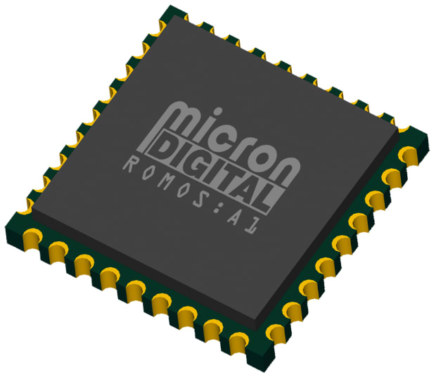 The ROMOS inertial measurement unit. (Image courtesy of Micron Digital.)