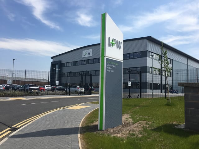 LPW's office in the UK. The company also has facilities in Pittsburgh, Pa. (Image courtesy of LPW.)