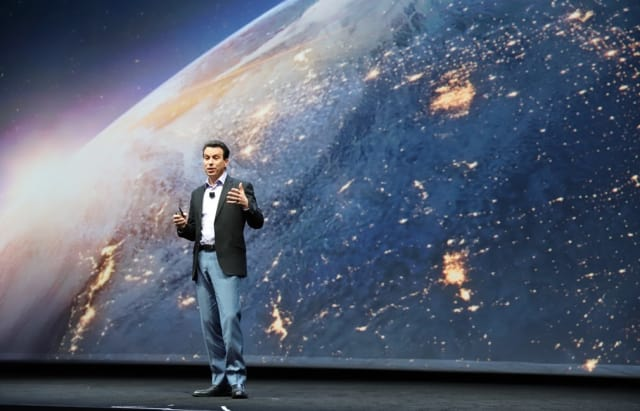 Taking a world view. Autodesk CEO Andrew Anagnost. (Picture courtesy of Autodesk)