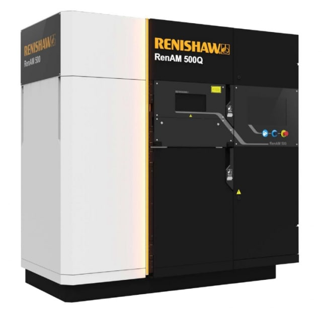 The RenAM 500Q, which has four lasers. (Image courtesy of Renishaw.)