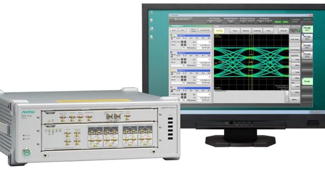 BERTWave MP2110A sampling oscilloscope. (Image courtesy of Anritsu.)