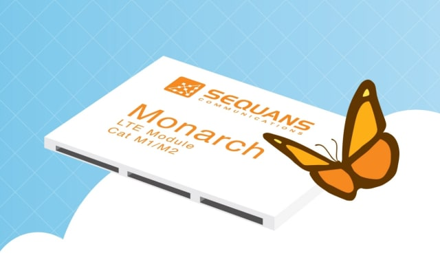 Monarch series module. (Image courtesy of Sequans Communications.)