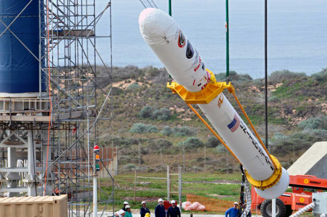 NASA's Glory mission failed in 2011 due to faulty material inputs. (Image courtesy of NASA.)