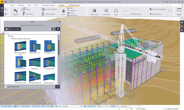 Tekla 2018 Packages Released for Structural Engineering