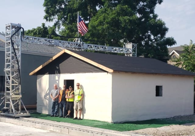 500-Square-Foot House 3D Printed in 12 Hours > ENGINEERING com