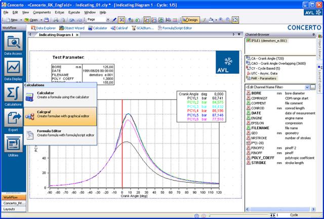 CONCERTO data management software. (Image courtesy of AVL.)