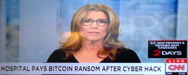 Figure 1.A Southern California hospital, the Hollywood Presbyterian Medical Center, experienced a ransomware attack thatcrippled hospital services. (Image courtesy of CNN.)