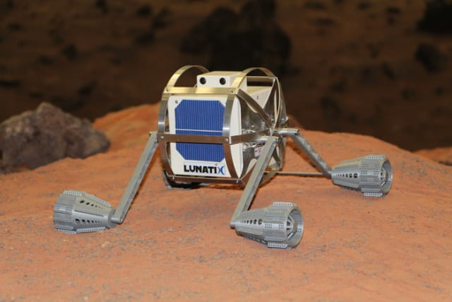 Lunar Nanobot (courtesy: ESA)