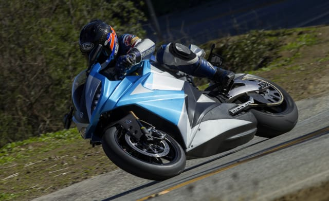 The LS-218 is the world's fastest production electric motorcycle. (Image courtesy of Lightning Motorcycles.)