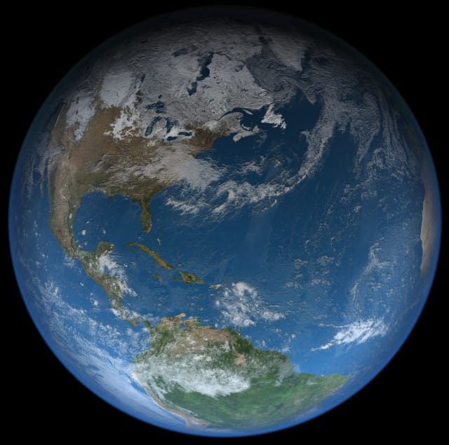 Satellogic's Observation Constellation project aims to reduce the cost of obtaining Earth imaging and data, which could have far-reaching benefits for many local and national governments, as well as industries like forestry, agriculture and energy. (Image courtesy of NASA.)