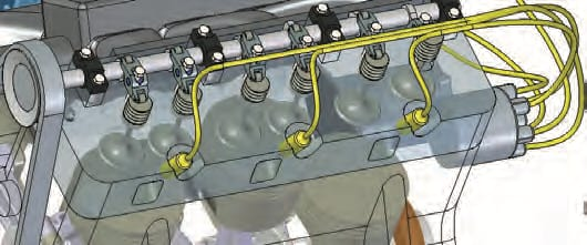 Synchronous assemblies make it possible to use both synchronous and ordered parts in the same assembly. (Image courtesy of Siemens.)