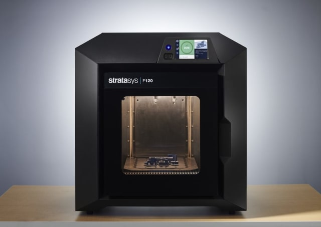 The F120 is an entry-level industrial 3D printer from Stratasys. (Image courtesy of Stratasys.)