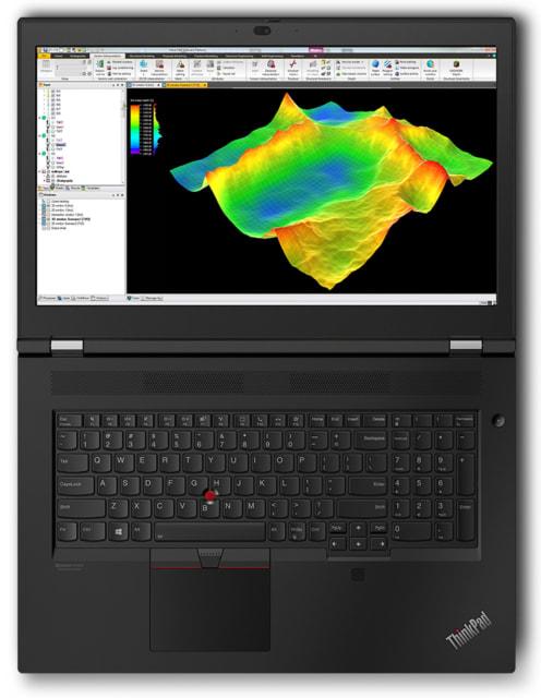 The new ThinkPad P17. (Image courtesy of Lenovo.)