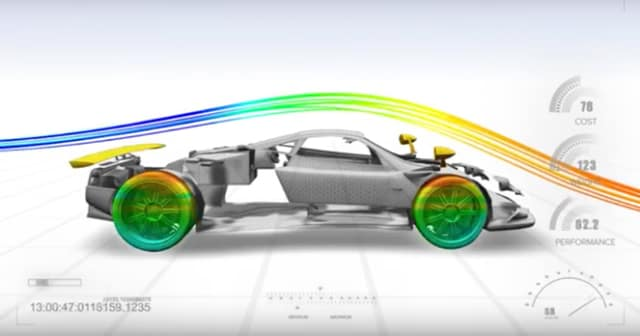 Are digital twins coming to the automotive industry soon? Maybe if they use Twin Builder. (Image courtesy of ANSYS.)