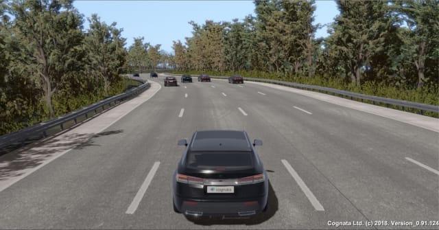 Cognata is a lifecycle solution for autonomous vehicles. (Image courtesy of Cognata.)