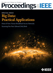 Cover of the new big data issue. (Image courtesy of IEEE.)