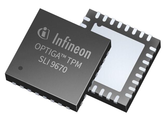 OPTIGA TPM. (Image courtesy of Infineon Technologies.)