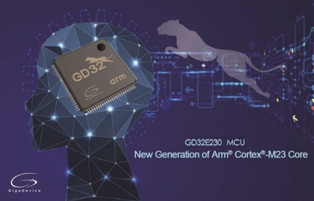 GD32E230 MCU. (Image courtesy of GigaDevice.)