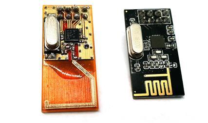 3D-printed Microstrip antennas. (Image courtesy of Nano Dimension.)