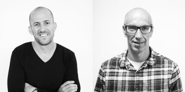 MakerBot CEO Jonathan Jaglom (left) will be replaced by MakerBot President Nadav Goshen (right). (Image courtesy of MakerBot.)