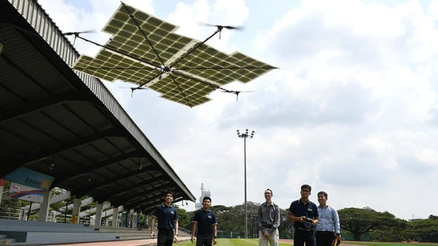 Asia's First Fully Solar-Powered Quadcopter Drone > ENGINEERING com