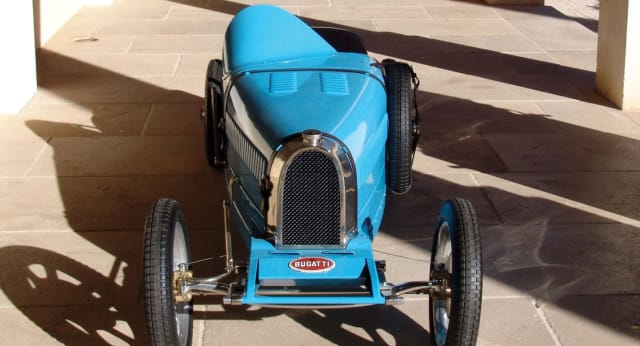 The Bugatti Baby II, for rich kids who want to go fast. (Image courtesy of Bugatti.)