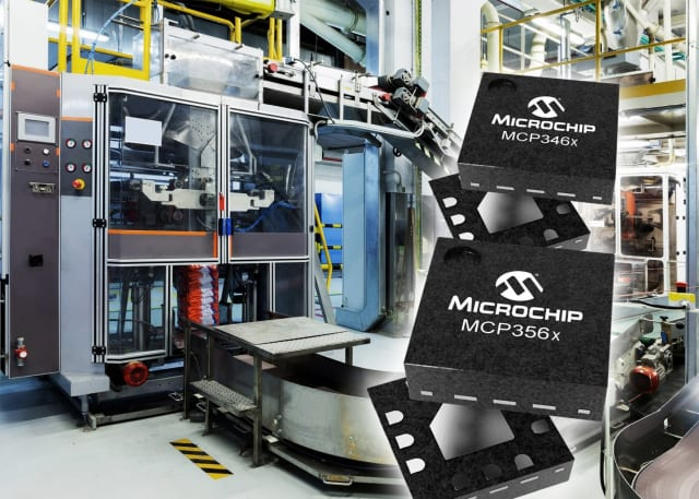 MCP356x and MCP346x convertors. (Image courtesy of Microchip.)