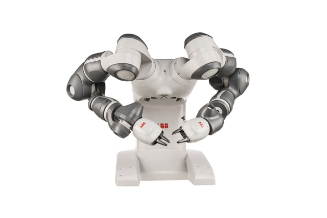 YuMi collaborative robot. (Image courtesy of ABB.)