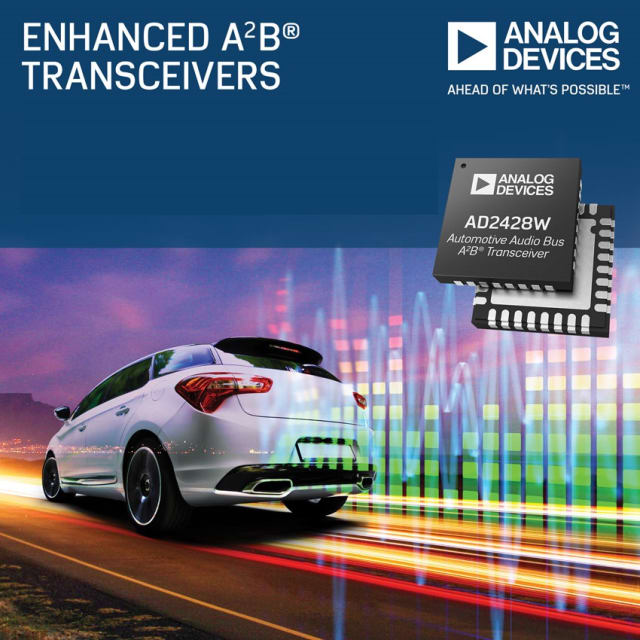 A2B Transceivers. (Image courtesy of Analog Devices.)