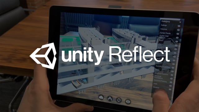 Unity Reflect is the latest fruit of the Unity/Autodesk collaboration, which lets users review and change their BIM models in realtime. (Image courtesy of Unity.)